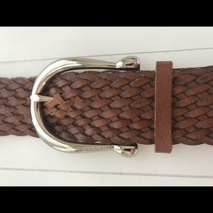 MICHAEL KORS leather belt 💋